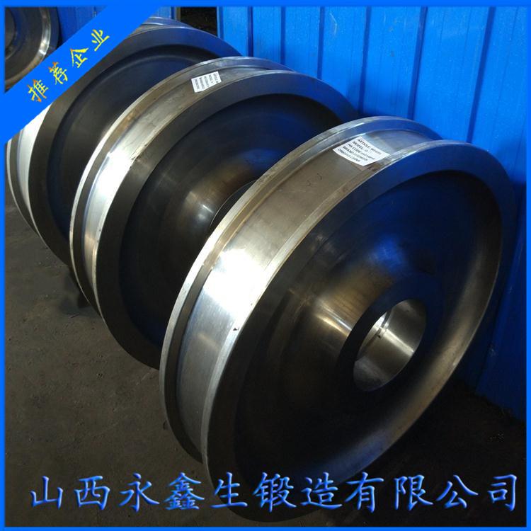 60#钢车轮锻件
