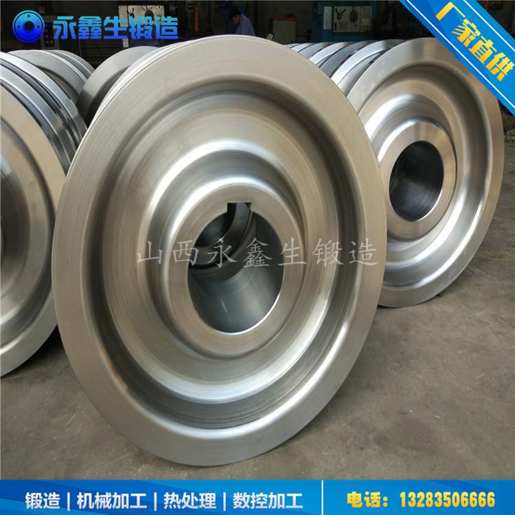 高炉铁水罐车轮锻件