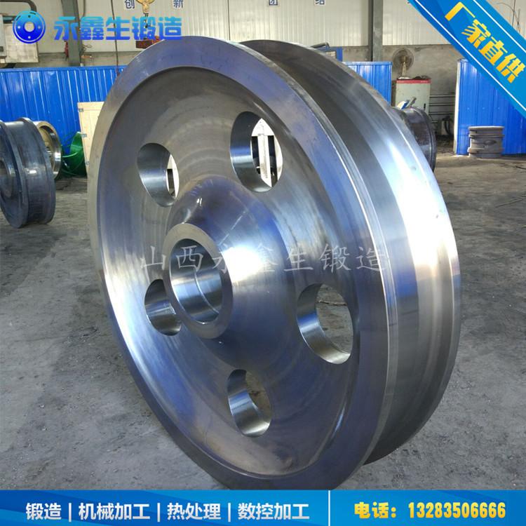 X70集装箱专用平车车轮锻件